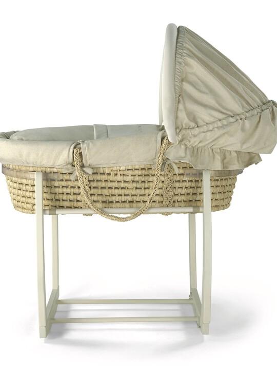 Rocking Moses Basket Stand - Natural image number 1