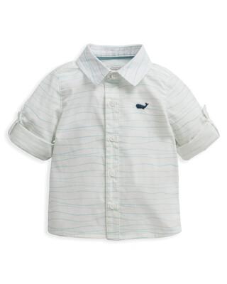 Wave Print Shirt