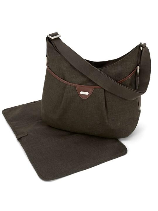 Ellis Shoulder Bag Tweed - Khaki image number 1