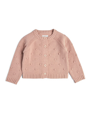 Knitted Bobble Cardigan