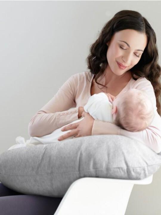 Nursing Pillow - Grey Marl image number 2