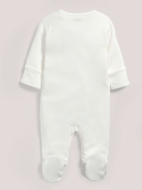 Bamboo Fabric All-In-One White- New Born image number 2