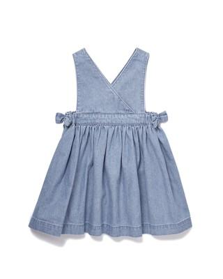 Chambray Denim Pinny Dress