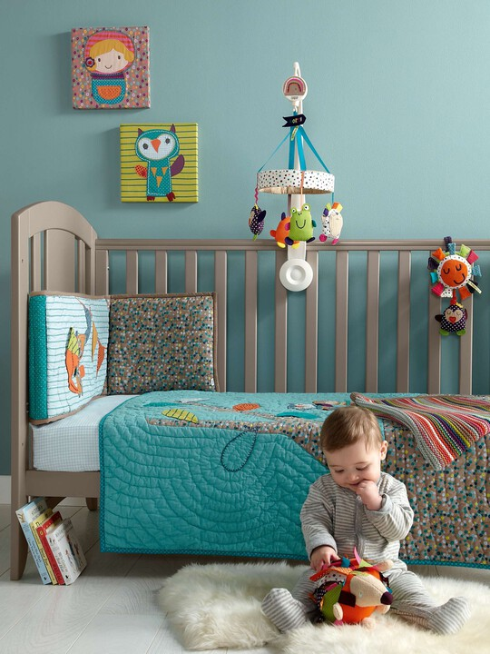 Timbuktales - Boys Cotbed Coverlet image number 2