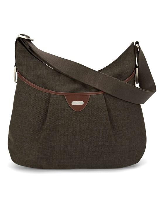 Ellis Shoulder Bag Tweed - Khaki image number 4