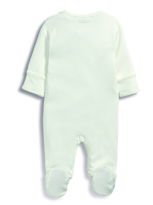 Bamboo Fabric All-In-One White- New Born image number 3
