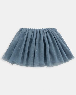 Glitter Mesh Tutu Skirt