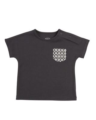 Black Pocket T-Shirt