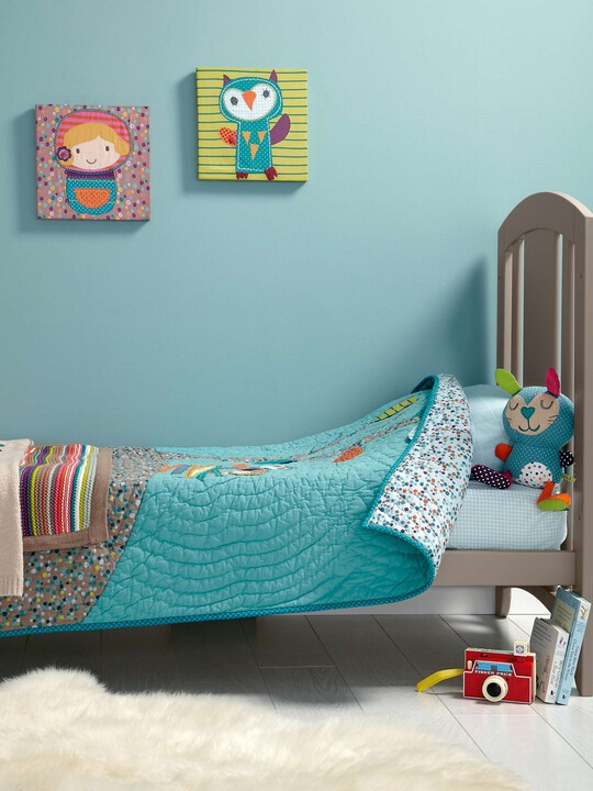 Timbuktales - Boys Cotbed Coverlet image number 7
