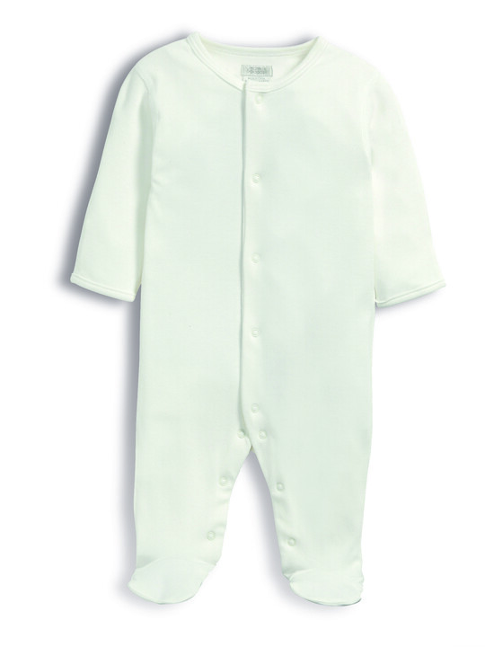 Bamboo Fabric All-In-One White- New Born image number 4