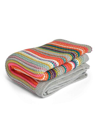 Big Top Tales Knitted Blanket