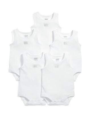 Sleeveless Bodysuits (Set of 5)