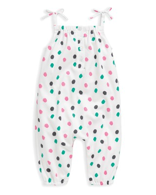 Spot Print Jumpsuit