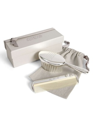Once Upon a Time - Silver Brush & Comb Set