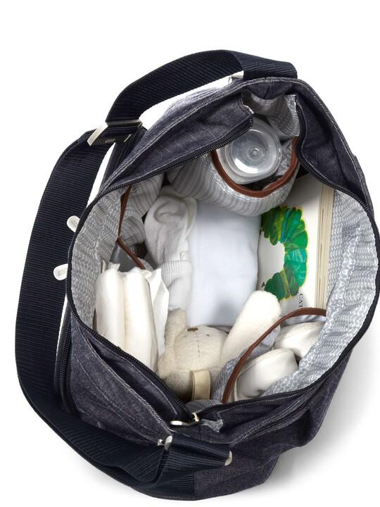 Ellis Shoulder Changing Bag - Denim image number 3