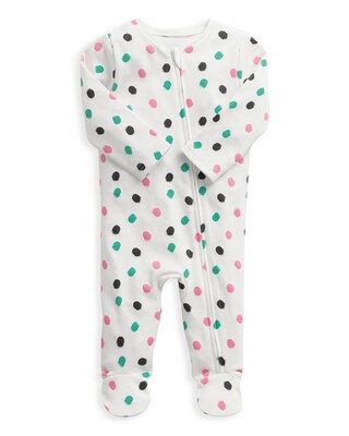 Spot Print Zip All-in-one