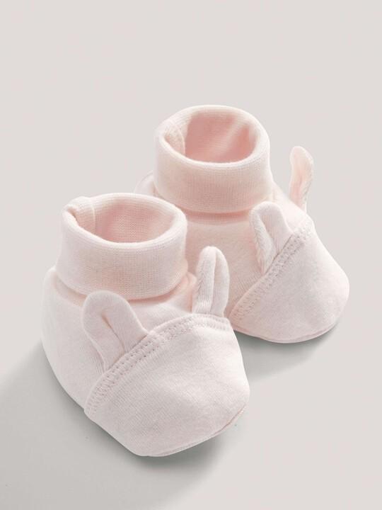Pink Rabbit Booties image number 1